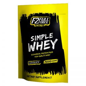 F2 Full Force Nutrition Simple Whey, 1000g Strawberry