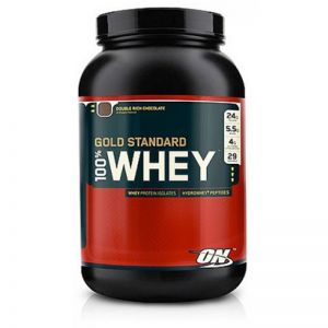 Optimum Nutrition 100% Whey Gold Standard, 908g Dose Cookies & Cream