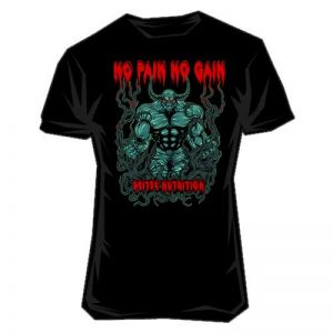 Scitec Nutrition T-Shirt - No Pain (schwarz)