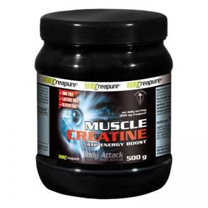 Body Attack Muscle Creatine, 500g