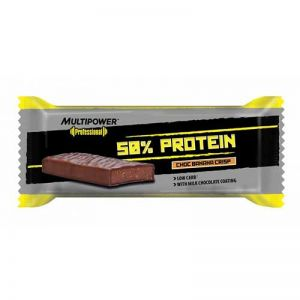 Multipower 50% Protein Pack, 100g Toffee-Almond