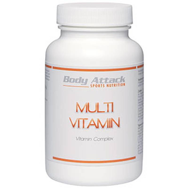 Body Attack Multi Vitamin Complex, 100 Tabl.