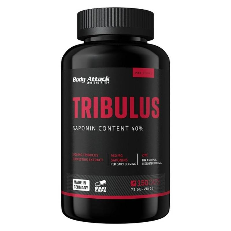 Body Attack Tribulus, 150 Kaps.