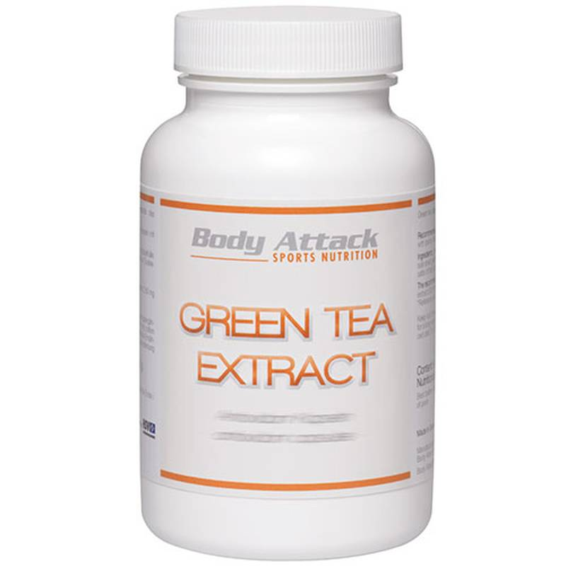 Body Attack Green Tea Extract, 90 Kapseln