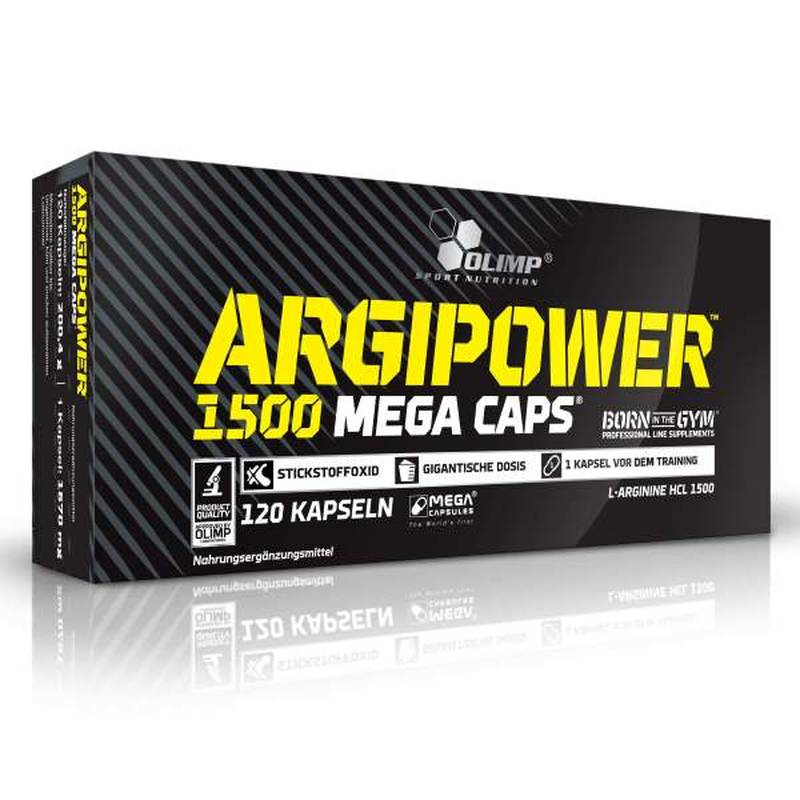 Olimp ArgiPower 1500 Mega Caps, 120 Kaps.