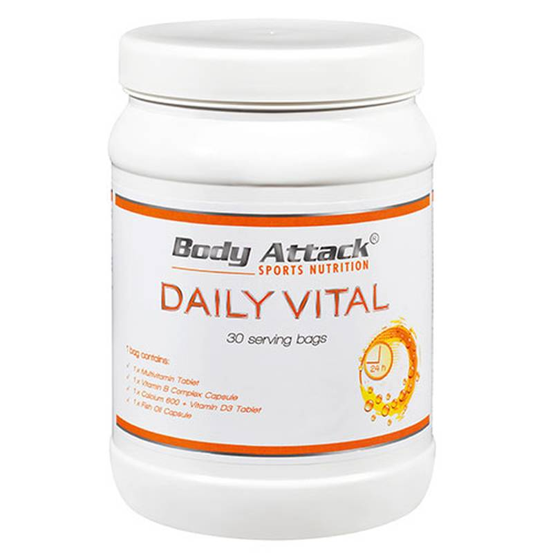 Body Attack Daily Vital, 30 Packs