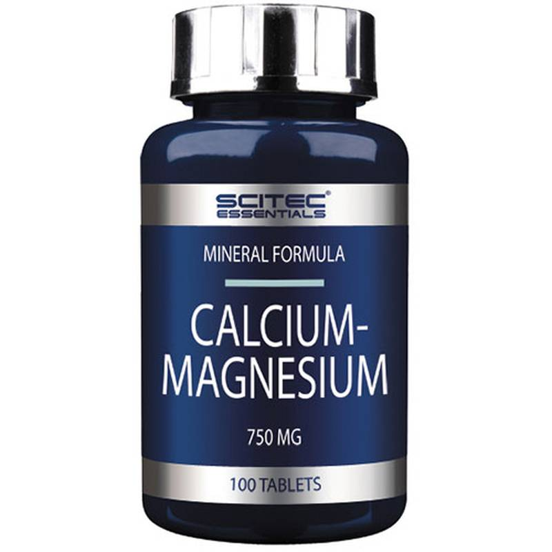 Scitec Nutrition Essentials Calcium Magnesium, 100 Tabletten