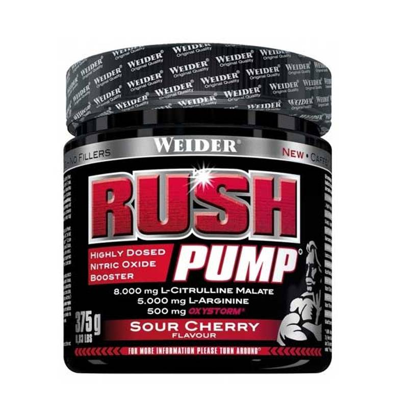 Weider Rush Pump, 375g Sour Cherry
