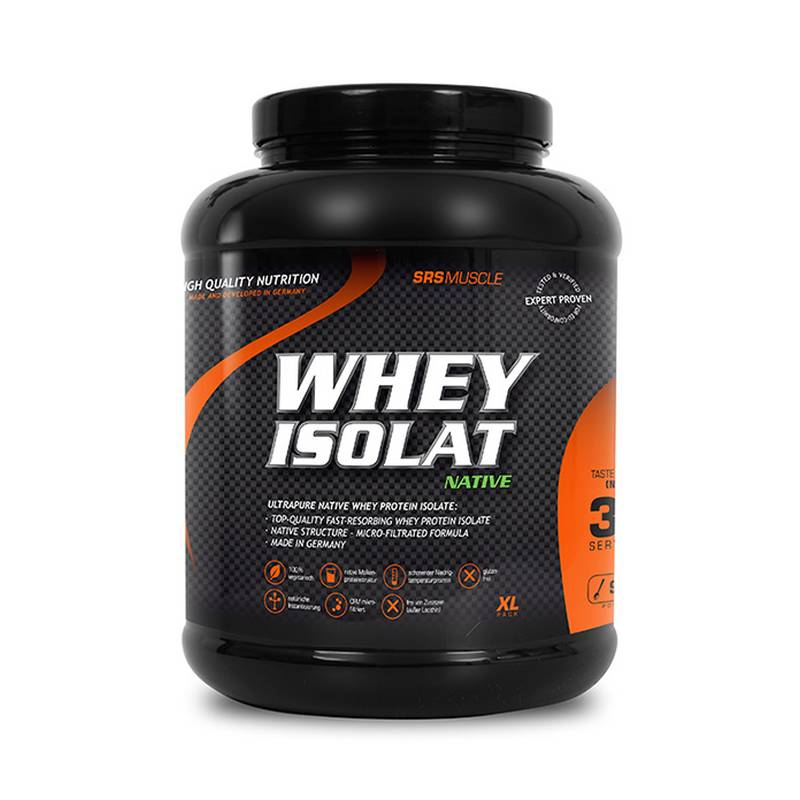 SRS Muscle Whey Isolat, 900 g