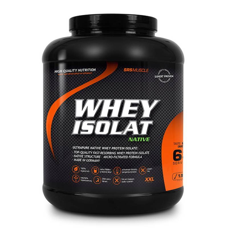 SRS Muscle Whey Isolat, 1900 g