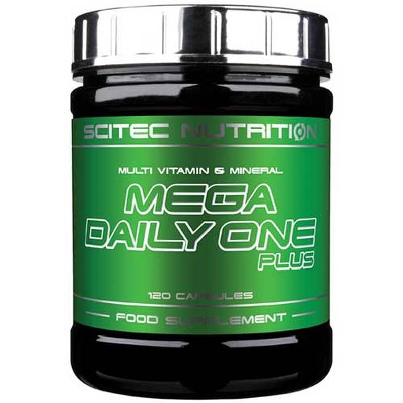 Scitec Nutrition Mega Daily One, 120 Kapseln