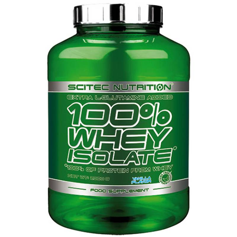 Scitec Nutrition 100% Whey Isolate, 2kg Pulver