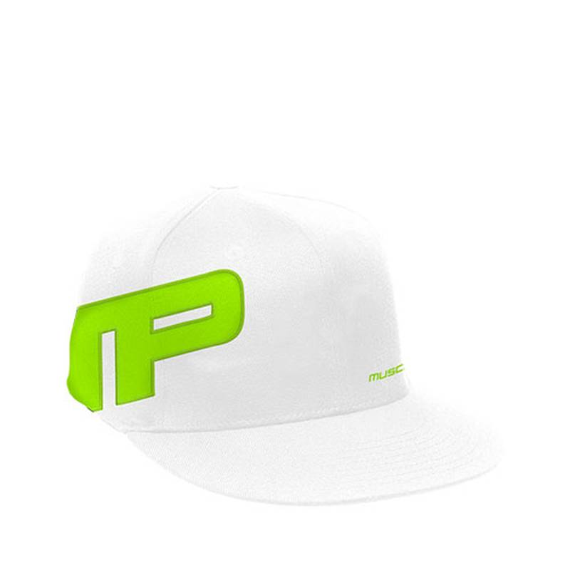 Musclepharm Flatbrim Flagship Hat- White