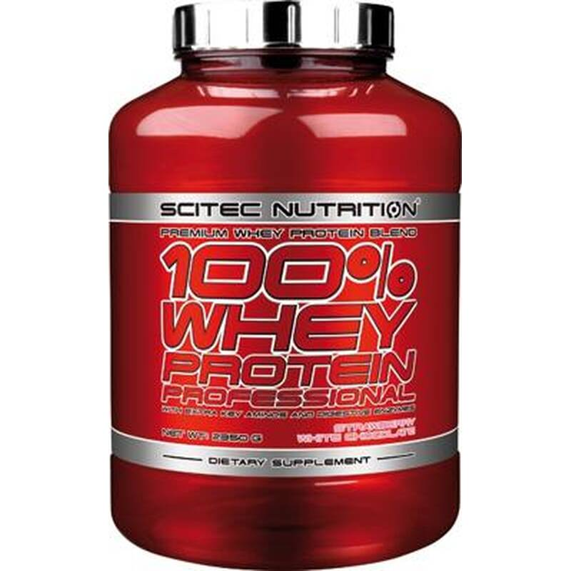 Scitec Nutrition 100% Whey Protein Professional, 2350g Zimt-Vanille