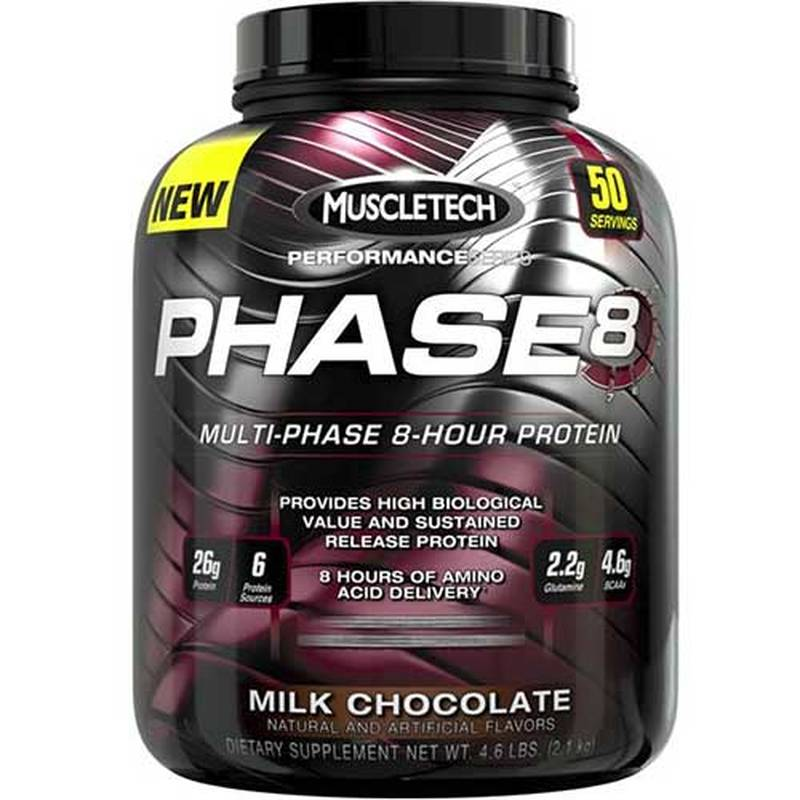 MuscleTech PHASE 8, 2100g
