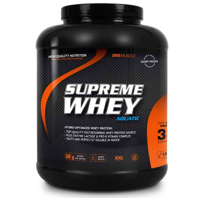 SRS Muscle Supreme Whey Protein, 1900g Cookies & Cream