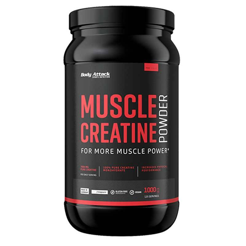 Body Attack Muscle Creatine, 1000g