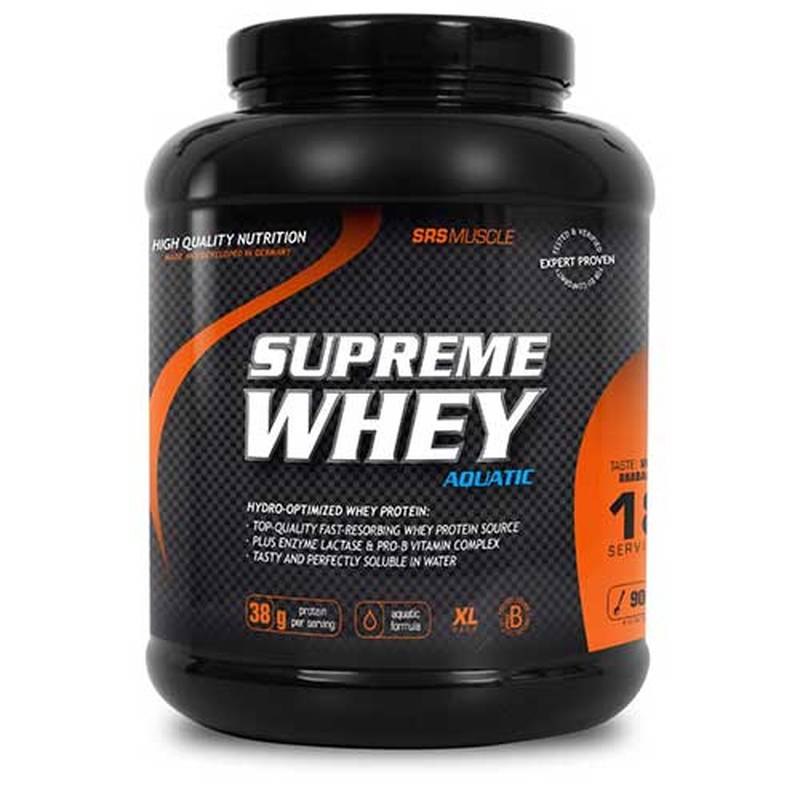 SRS Muscle Supreme Whey Protein, 900g