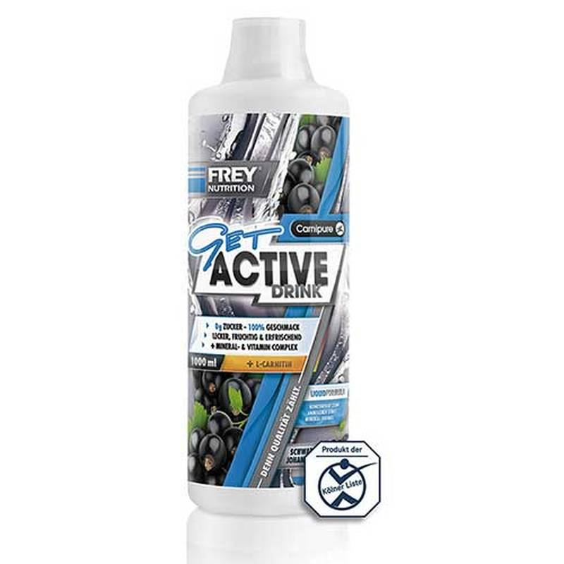 Frey Nutrition Get Active Drink, 1000 ml