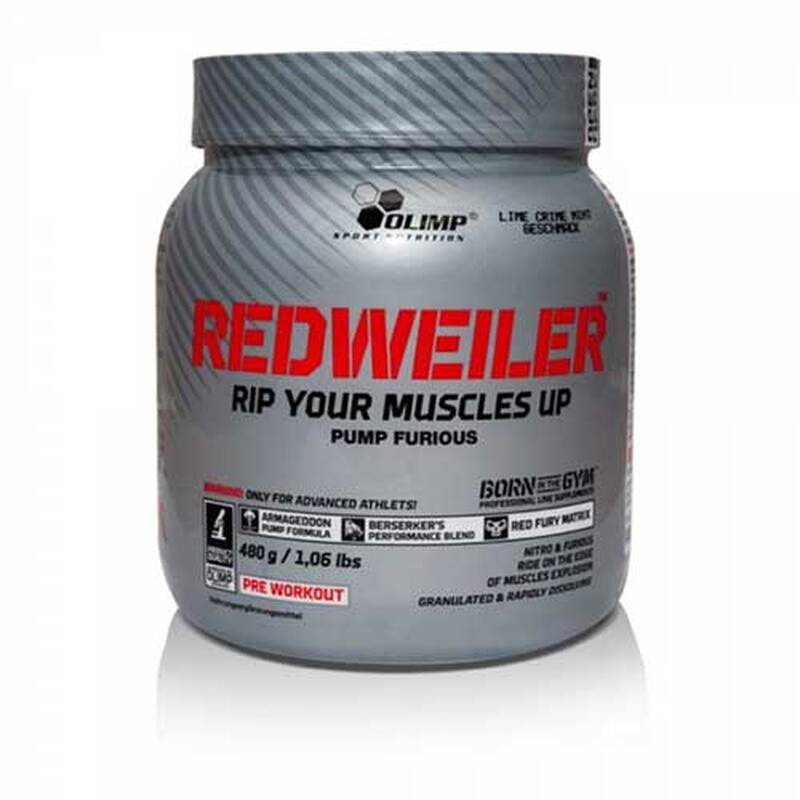 Olimp Redweiler Armageddon PUMP, 480g Red Punch