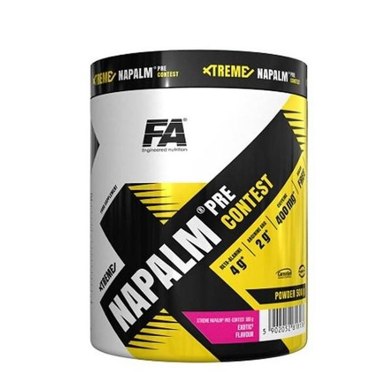 FA Nutrition Xtreme Napalm Booster, 500g Lemon Lime