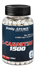 Body Attack L-Carnitine 1500