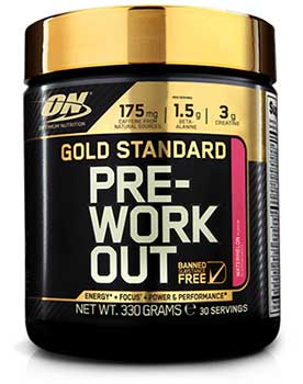 Gold Standard Pre-Workout Design